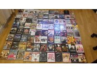 JOBLOT of over 90 DVD'S including New & Sealed and Box Sets