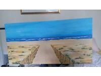 Original beach painting