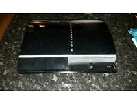 PS3 80GB 'fat' model, working w/power cable