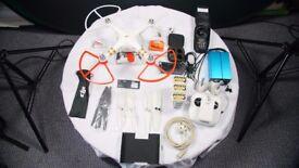 DJI Phantom 3 Professional Drone Kit with Headplay Head Mounted HDMI Display & more!