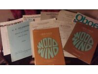 Various Sheet Music - Oboe / Piano / Horn / Guitar and others.