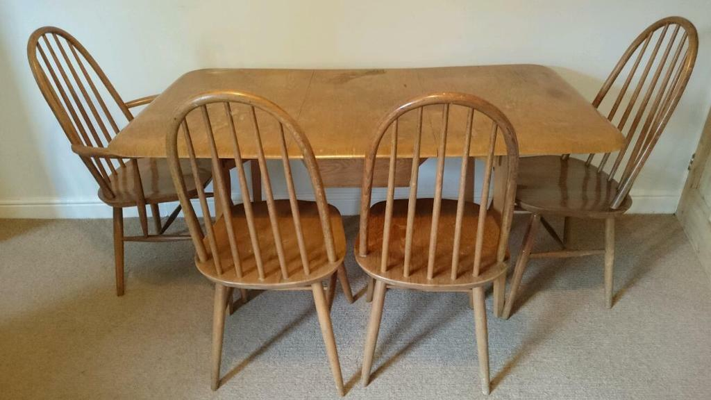 priory dining room table and chairs similar to ercol