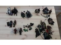 Various official Lord of the Rings figures. Excellent condition.