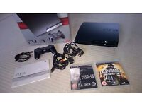 Playstation 3 Slim 250Gb Immaculate condition, Used Only 6 Months Original package, Controller Games