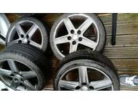 Audi tt/a3 VW golf seat Leon 5 stud alloy wheels