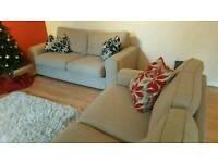 2 piece 3 seater Sofa set