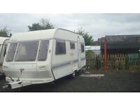 1997 coachman mirage 5 berth caravan