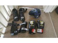 Full kickboxing set