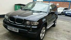 bmw x5 diesel full sunroof tv satnav