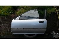 Honda Civic EG Passenger Door Silver. B16 B18 K20 H22 D16 VTEC Engine Vti Sir Lsi Esi Vei