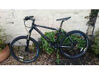 Boardman Dual Suspension Mountain Bike - Black FS Comp Medium Size