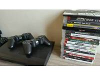 Ps3 500GB + 16 games