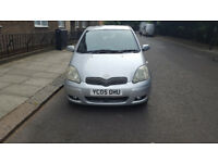 2005 toyota yaris 1.3 silver 5dr hatchback manual petrol MOT oct2018 full service history