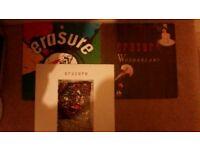 Erasure Vinyl LP albums