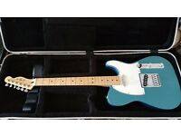 Fender Standard Telecaster 2015 Maple Neck Mexican MIM Lake Placid Blue,
