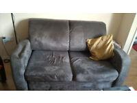 Dark Grey Sofa Bed, £25