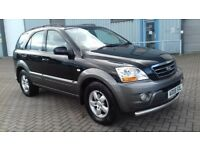KIA SORENTO 2.5 CRDI XE MANUAL.2008.ABSOLUTELY BEAUTIFUL.RECENTLY INSPECTED BY THE RAC.