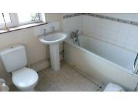 Bathroom Suite inc Bath, WHB, WC & Electric Shower.
