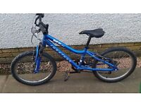 Ridgeback MX20 Blue bike 20 inch wheels