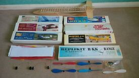 Model Glider Kits + Spares And Extras