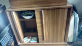 retro 60s drinks cabinet