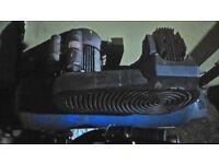 air compressor (garage, tool's, 150 ltr, parts, lot,