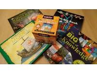 Fantastic bundle of kids fact and science books