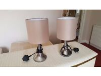 Two Small Desk Lamps - Fully Working Order
