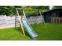 FOR SALE : Plum Giant Baboon Wooden Garden Swing Set