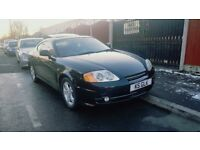 Hyundai Coupe 2.0 SE 3dr low genuine mileage Full year Mot, automatic gearbox in lovely black