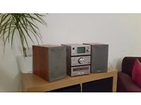Home stereo system from PURE. Excellent but used stereo system. DAB digital radio and cable.