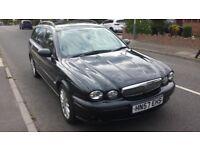 Jaguar X-Type S 2.0 D Estate 5 Door Half Leather 115000 miles A/C mondeo vectra audi a4 bmw 320