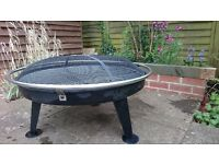 Impressively large urban 880 fire pit & bbq