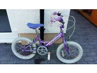 gilrs dawes princess 16inch bike