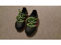 Adidas Junior ACE 16.3 FG / AG Football Boots Size 12
