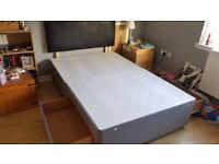 4 ft Divan Bed base and Headboard