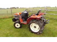 Yanmar F155 4WD Compact Tractor in Very Good Condition £3250 ono No Vat