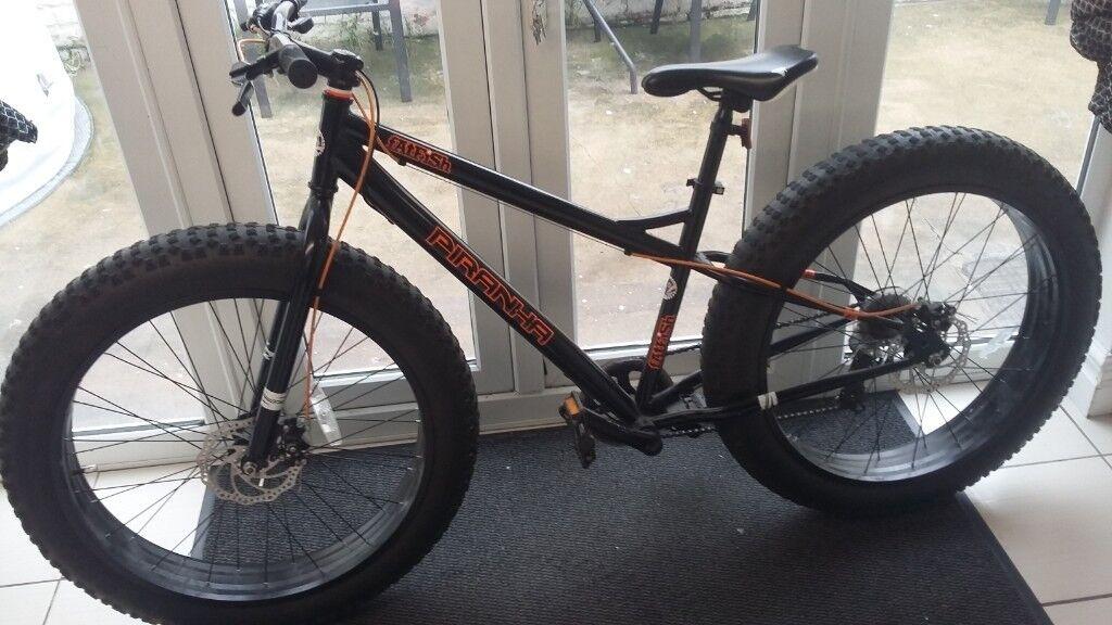 4c30d967090 PIRANHA FATFISH FATBIKE mountain bike | in Sunderland, Tyne and ...