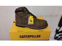 Caterpillar mens steel toe boots size 11