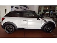 Mini Paceman 1.6 Cooper 3dr High spec car for sale. Full leather Heated seats, Chilli and Media pack