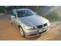 2006 06 BMW 320D ESTATE FULL SERVICE HISTORY 6 SPEED MANUAL DIESEL LEATHER