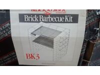 Bbq for brick/fitted build