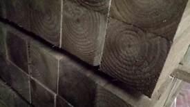 🌟 Pressure Treated Timber Posts 100 x 100mm x 2.4m