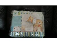 Forever Friends cot bed bedding set – new