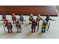 Playmobil archer and crossbow men