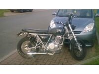 Custom 250cc - a one off from Herald, excellent bike, very reluctant sale.