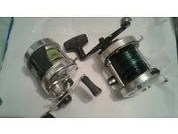 2 x abu multipliers reels