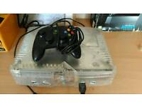 X box with controller