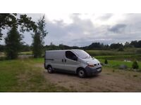 Renault Traffic 2003 Diesel one owner from new, same as vauxhall vivaro, nissan primastar