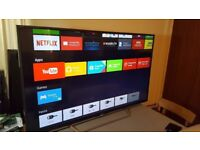 Sony Bravia 48 Wi-Fi builtin smart tv-- Slimish -- Almost new great condition